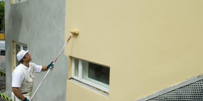 какая фасадная краска лучше для штукатурки