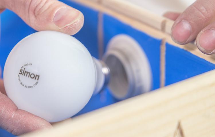 Как сделать электрическую цепь светильника