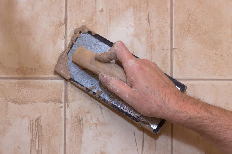 How to remove grout sealer from ceramic tile